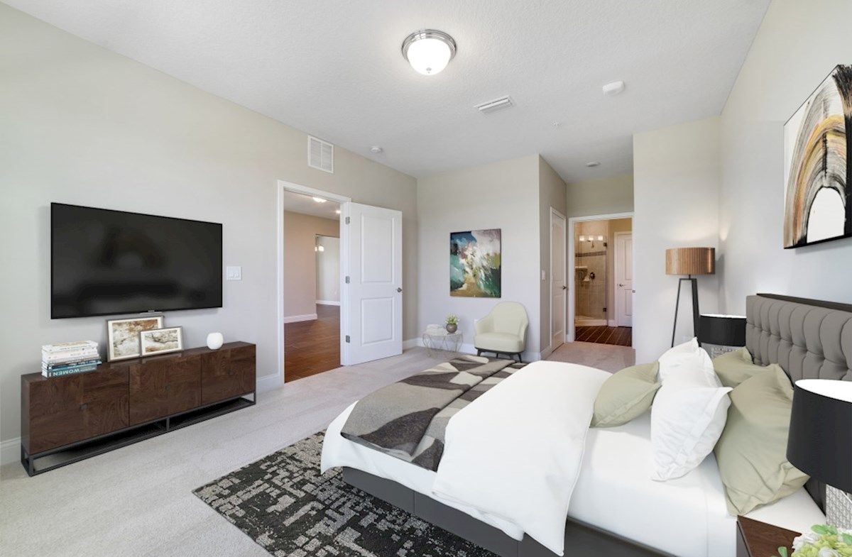 Bedroom featured in the Chestnut By Beazer Homes in Orlando, FL