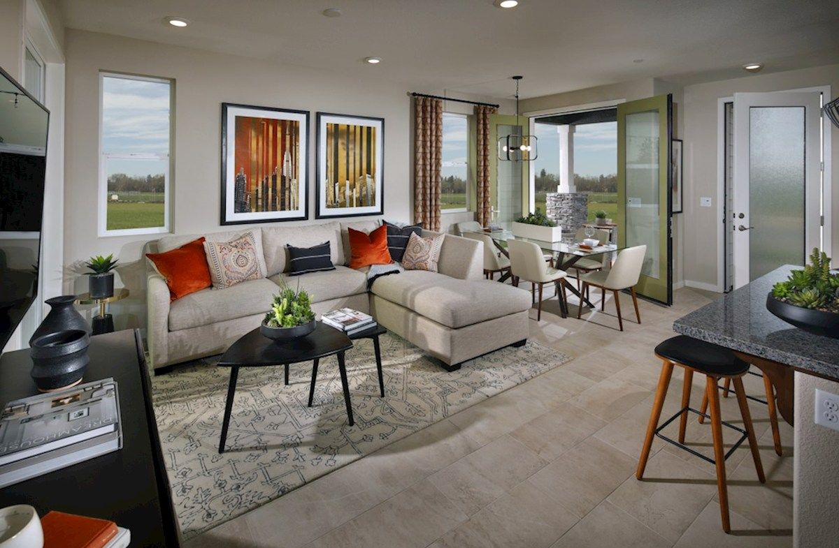Living Area featured in the Plan 2 By Beazer Homes in Sacramento, CA