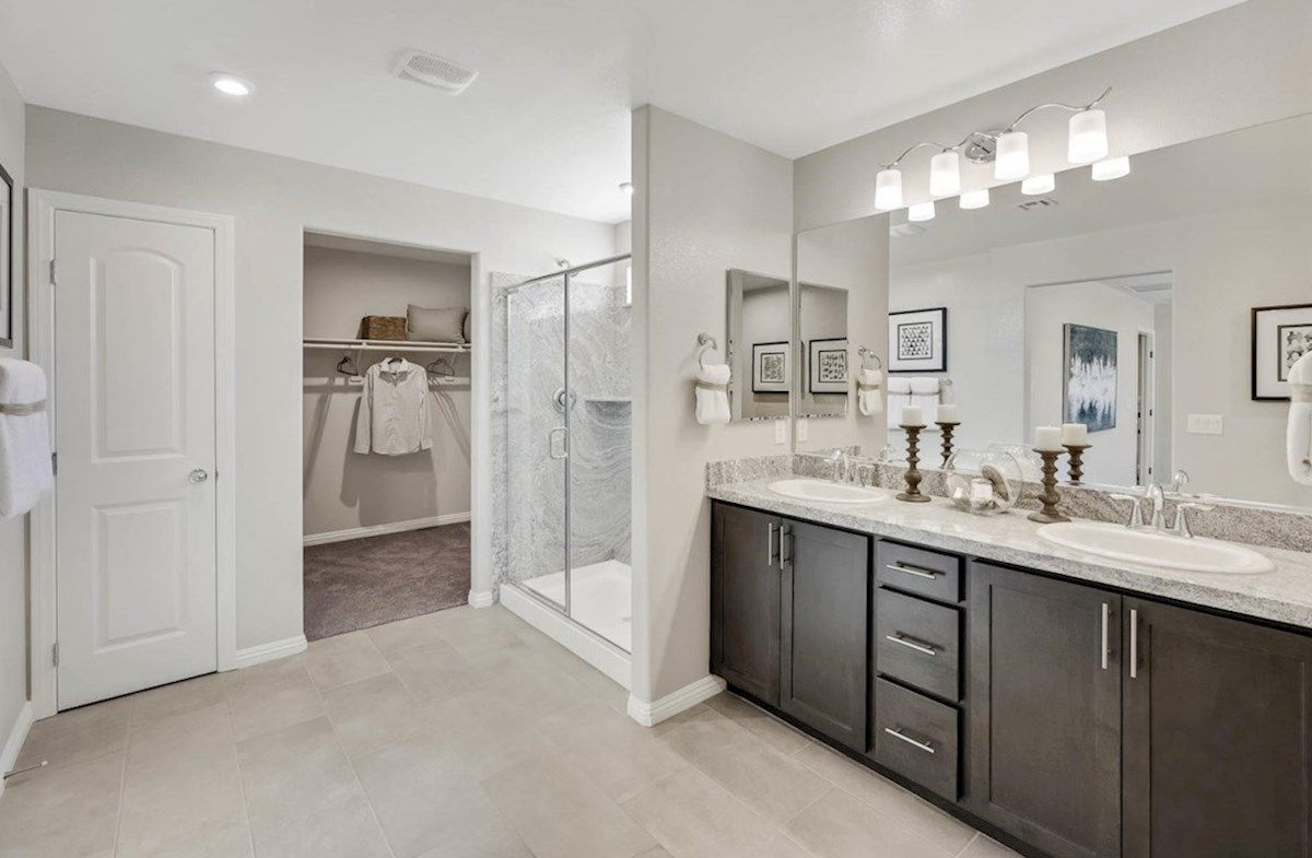 Bathroom featured in the Sequoia By Beazer Homes in Las Vegas, NV