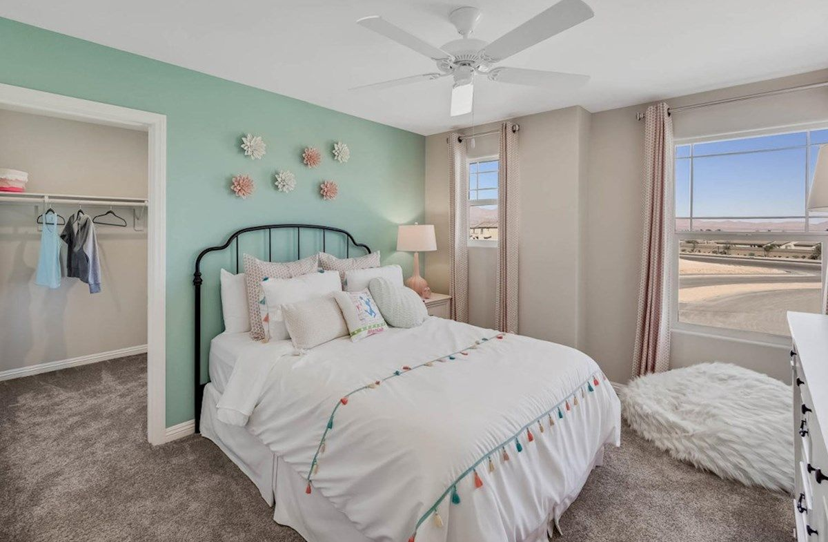 Bedroom featured in the Sequoia By Beazer Homes in Las Vegas, NV