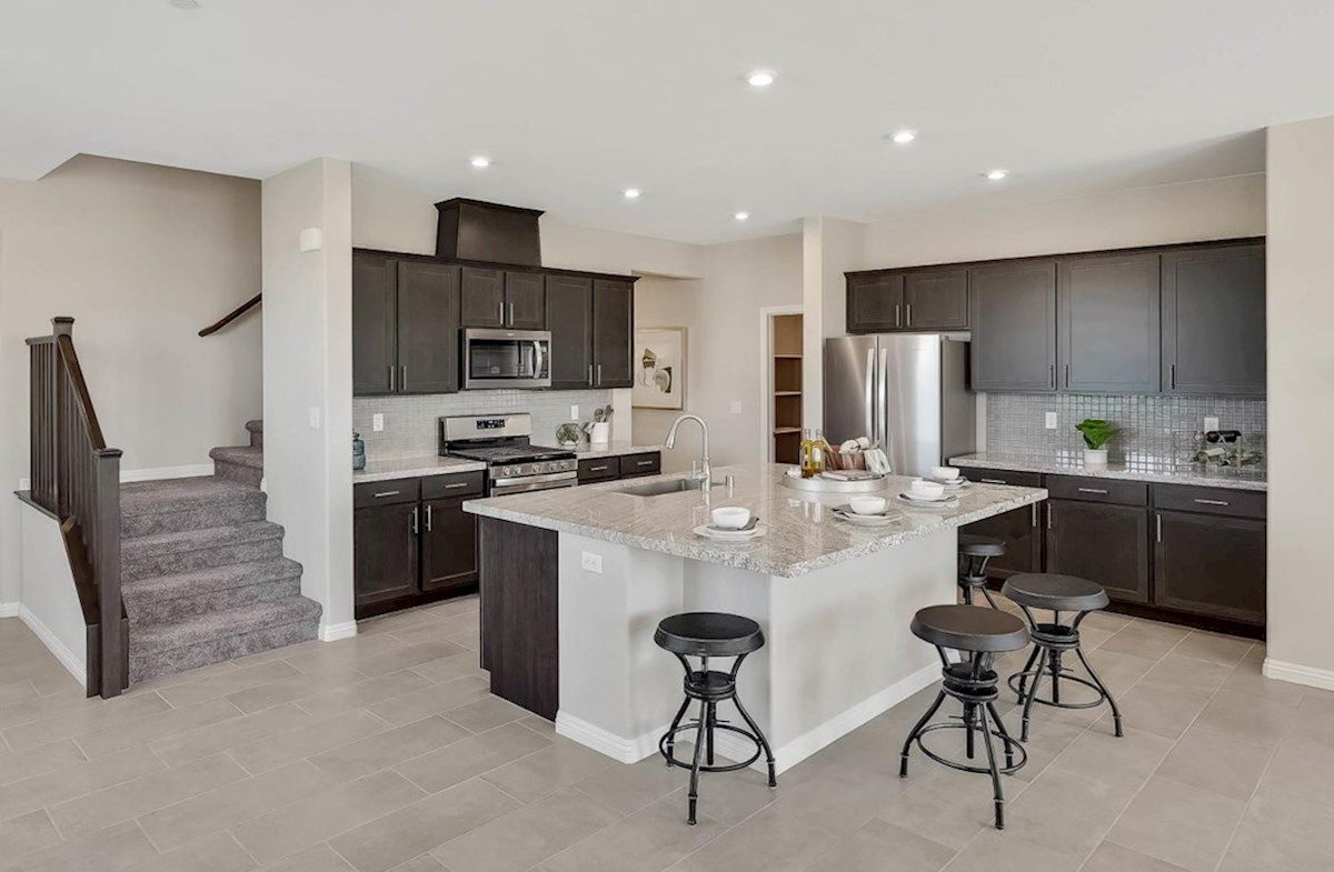 Kitchen featured in the Sequoia By Beazer Homes in Las Vegas, NV