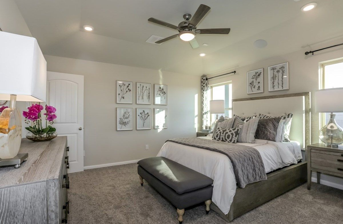 Bedroom featured in the Brook By Beazer Homes in Houston, TX
