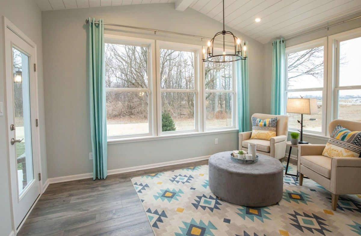 Living Area featured in the Tuscany By Beazer Homes in Indianapolis, IN
