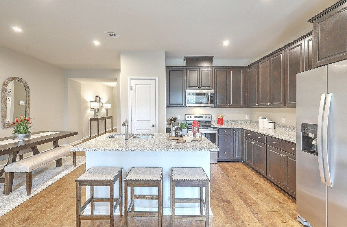 Kitchen featured in the Brookwood By Beazer Homes in Savannah, GA