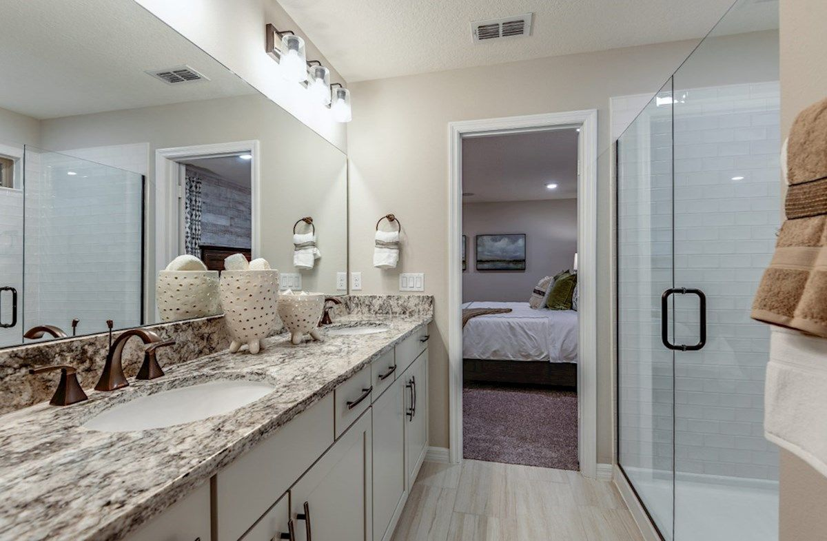 Bathroom featured in the Brentwood By Beazer Homes in Orlando, FL