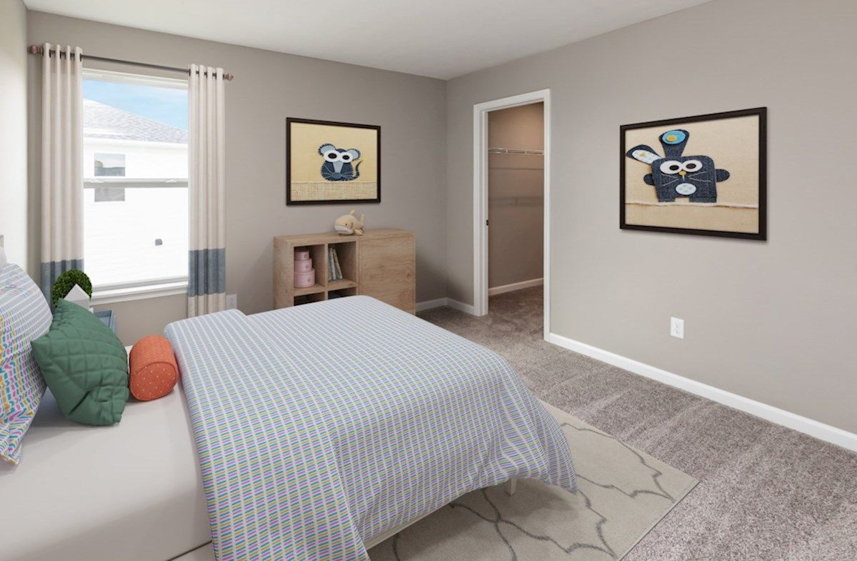 Bedroom featured in the Plymouth By Beazer Homes in Indianapolis, IN
