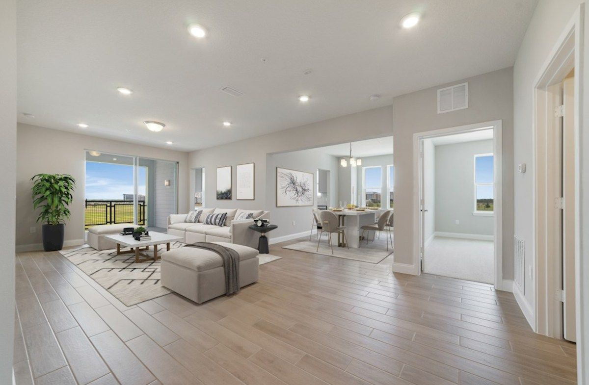 Living Area featured in the Chestnut By Beazer Homes in Orlando, FL