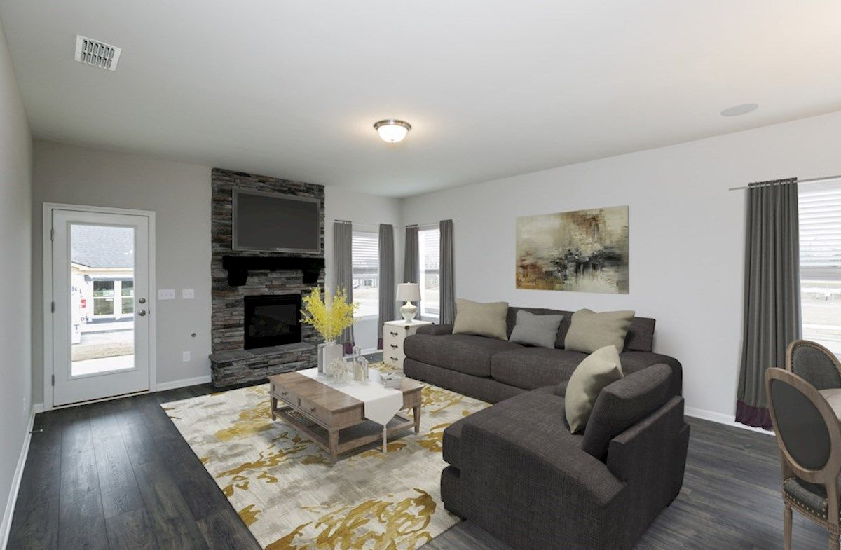 Living Area featured in the Oxford By Beazer Homes in Nashville, TN