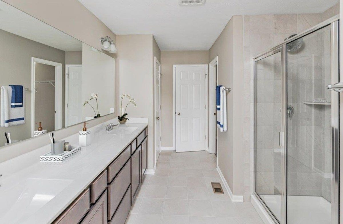 Bathroom featured in the Bradley By Beazer Homes in Indianapolis, IN