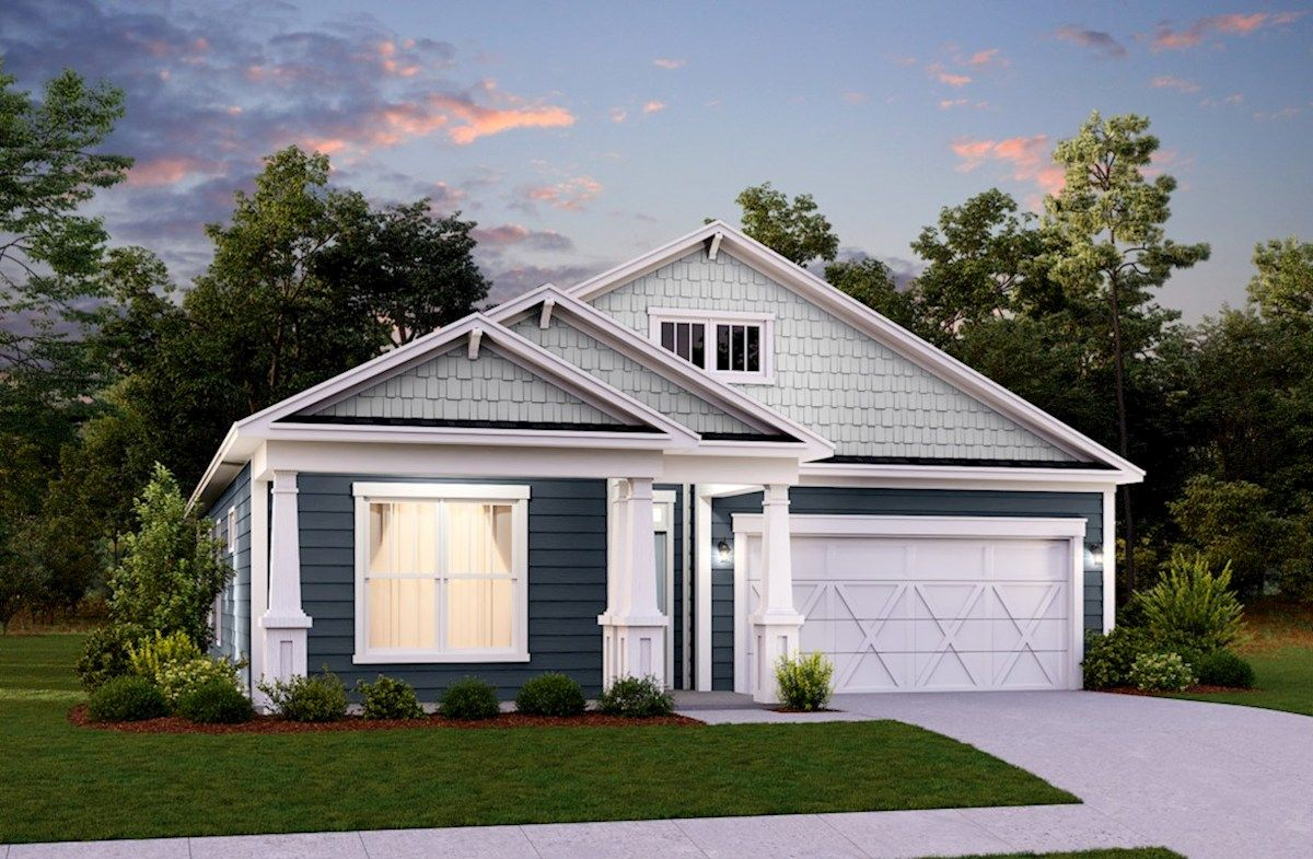 Exterior featured in the Chestnut By Beazer Homes in Myrtle Beach, SC