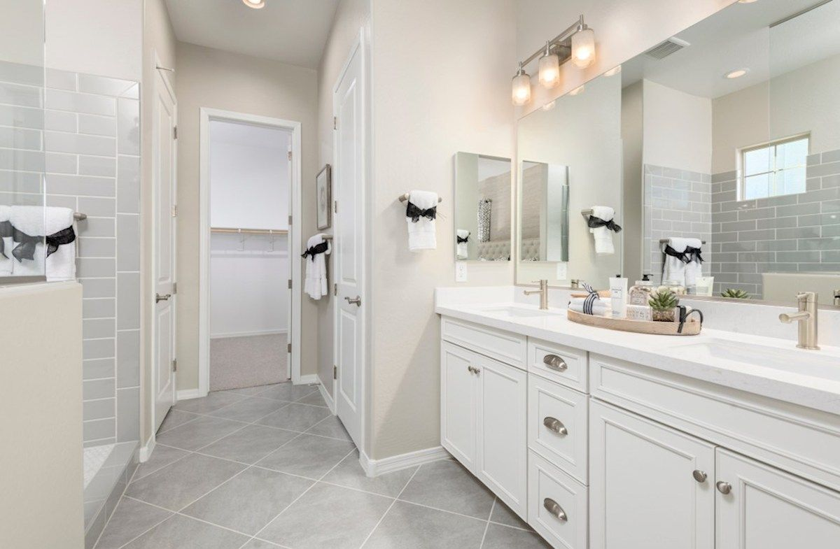 Bathroom featured in the McDowell By Beazer Homes in Phoenix-Mesa, AZ
