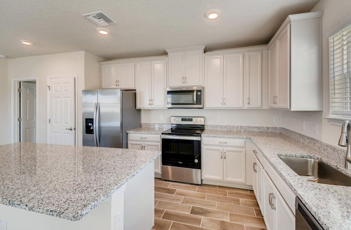 Kitchen featured in the Voyager By Beazer Homes in Tampa-St. Petersburg, FL