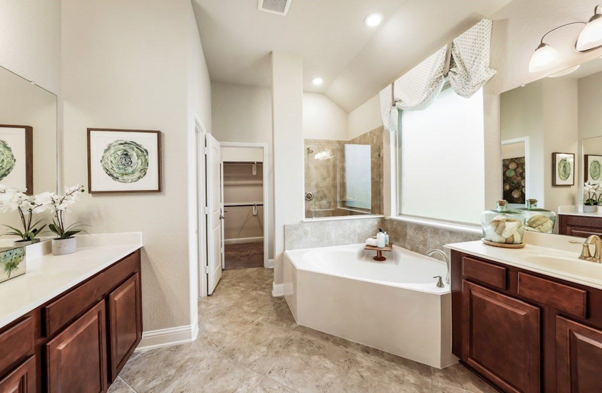 Bathroom featured in the Cameron By Beazer Homes in Houston, TX