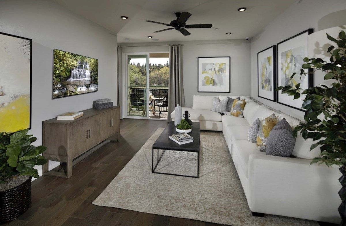 Living Area featured in the Plan 3 By Beazer Homes in Sacramento, CA