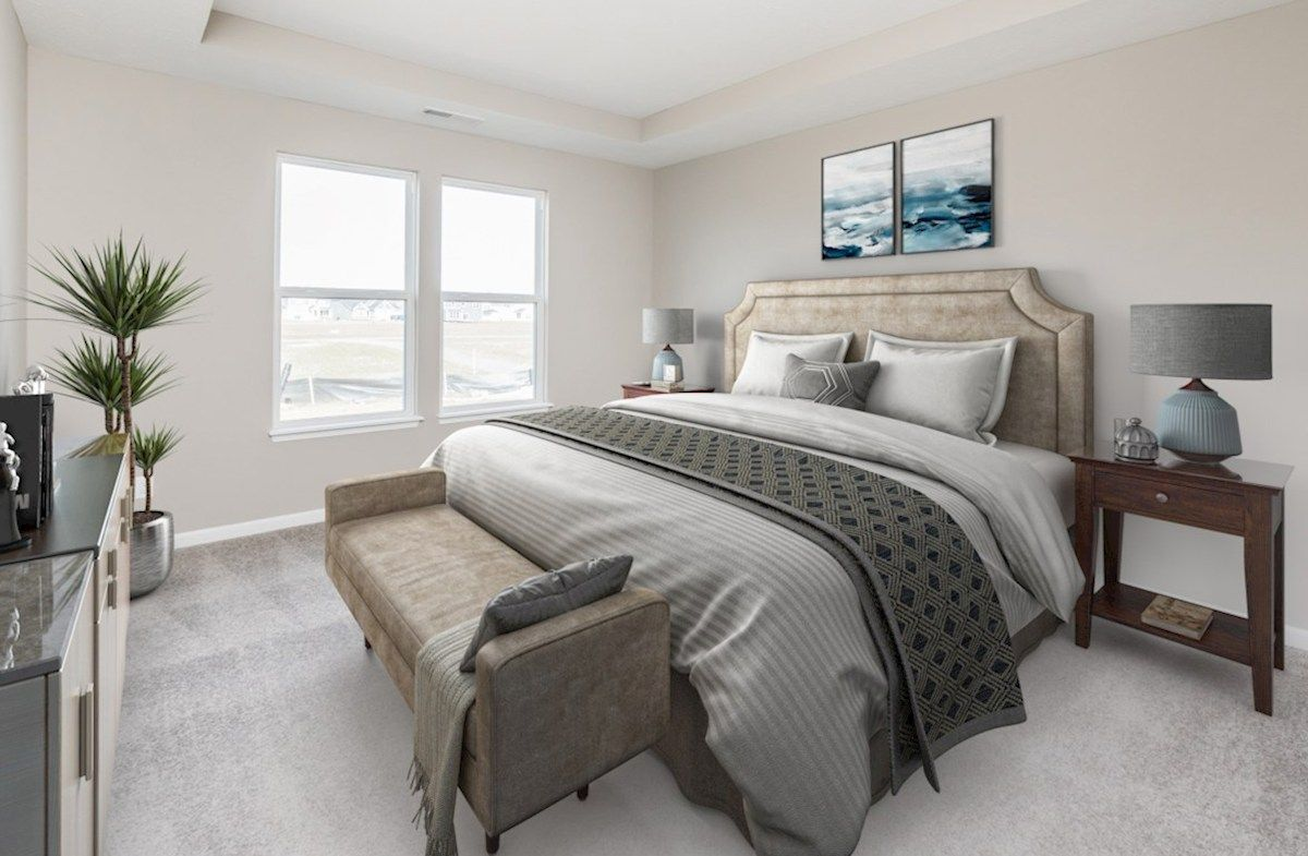 Bedroom featured in the Hoover By Beazer Homes in Indianapolis, IN
