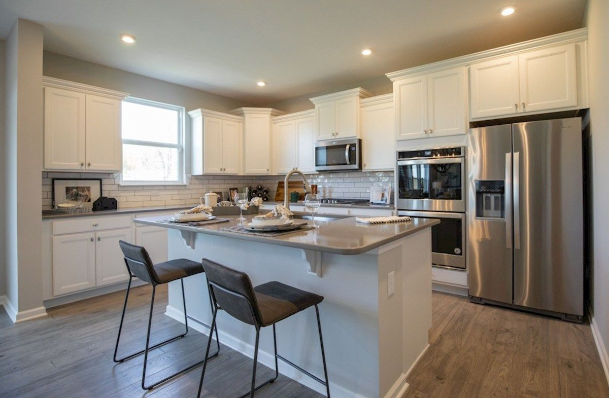 Kitchen featured in the Liberty By Beazer Homes in Indianapolis, IN