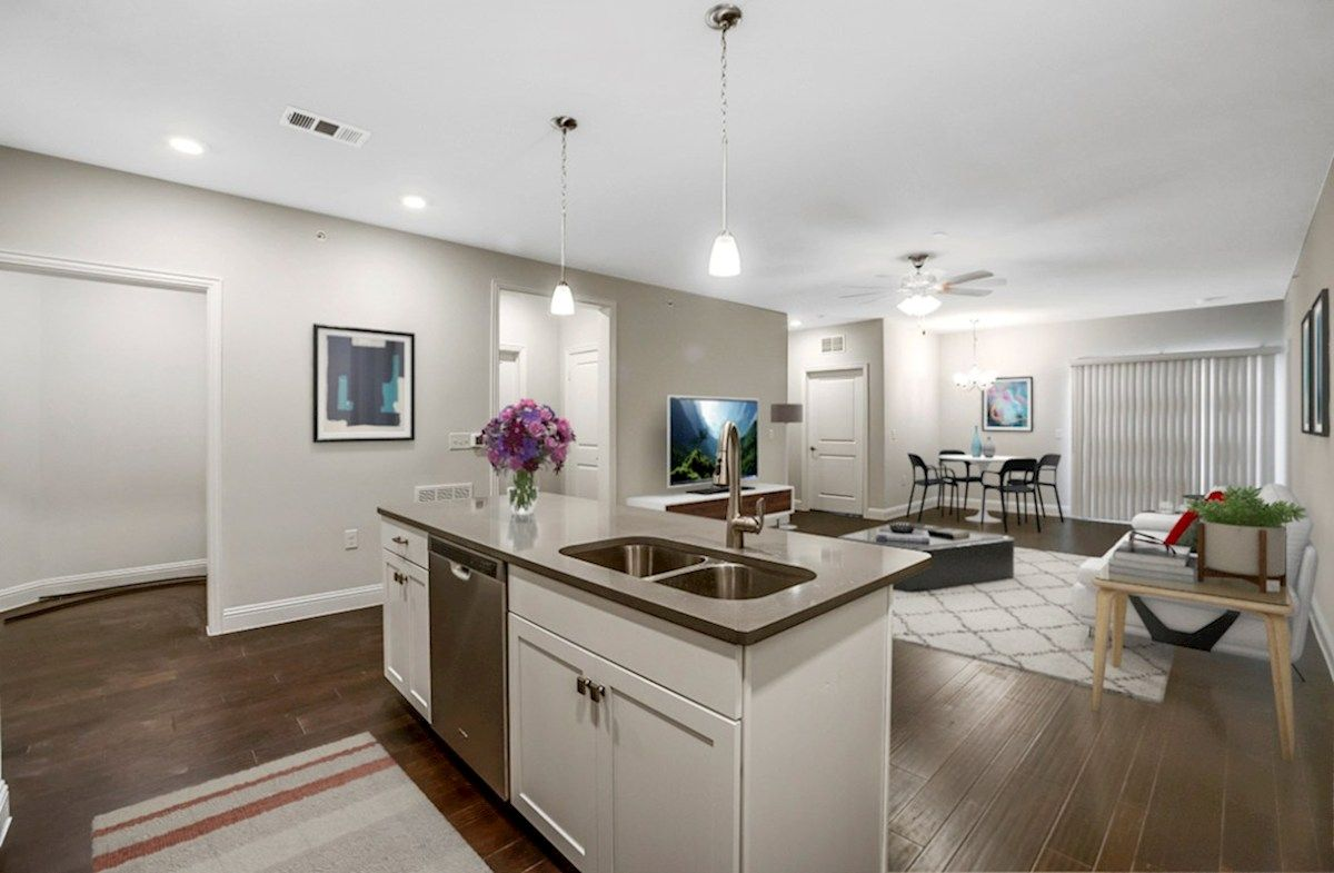 Living Area featured in the Clifton By Beazer Homes in Dallas, TX
