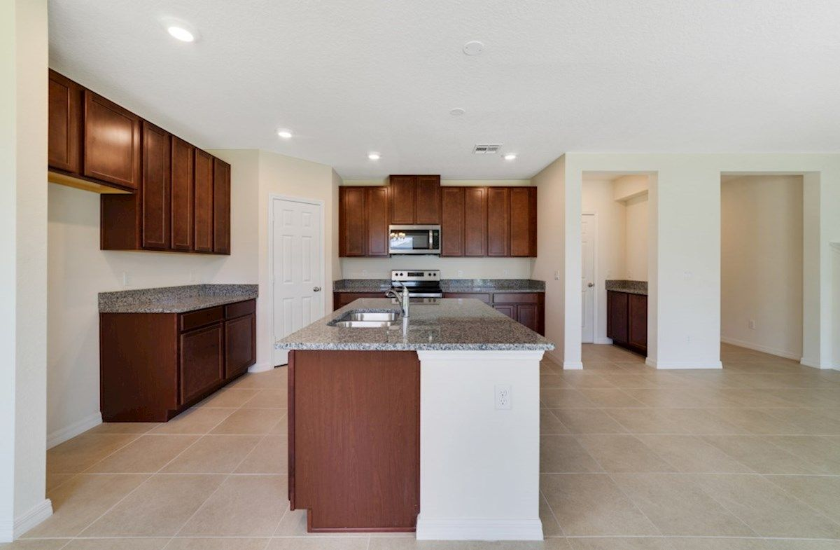 Kitchen featured in the Covington By Beazer Homes in Orlando, FL