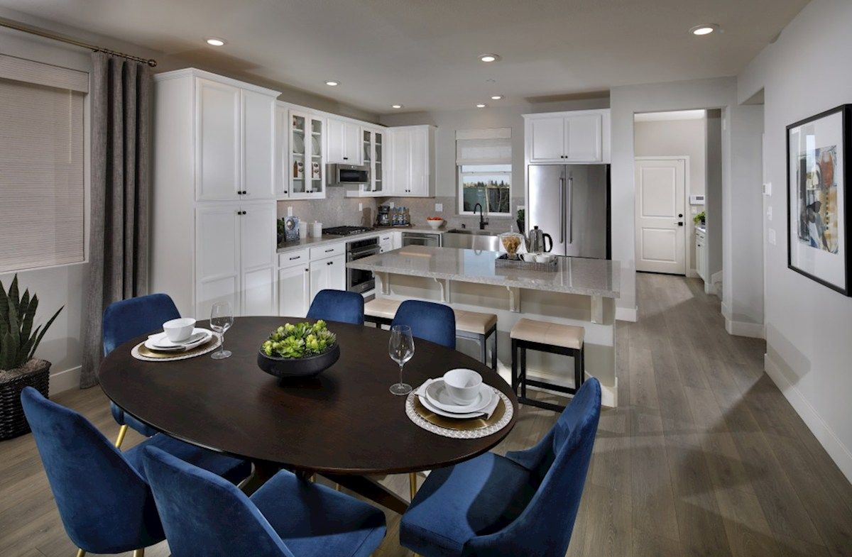 Kitchen featured in the Plan 3 By Beazer Homes in Sacramento, CA