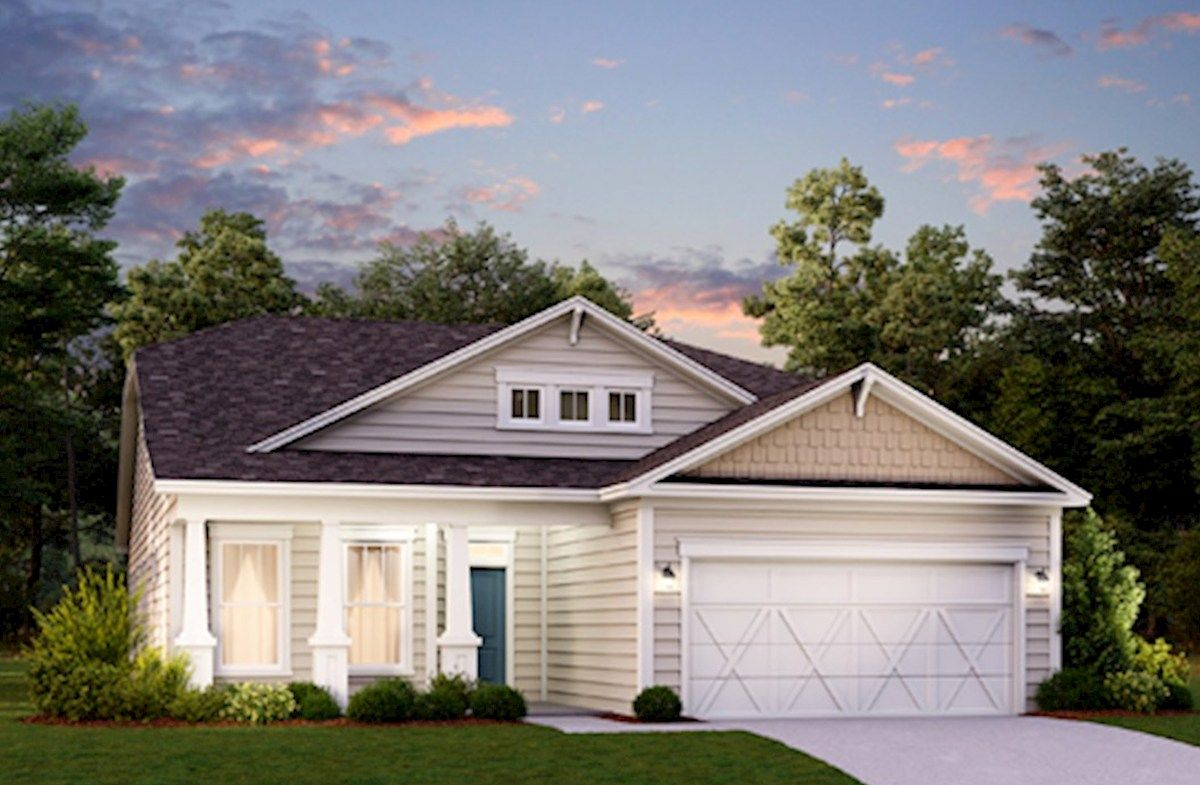 Exterior featured in the Hickory By Beazer Homes in Myrtle Beach, SC