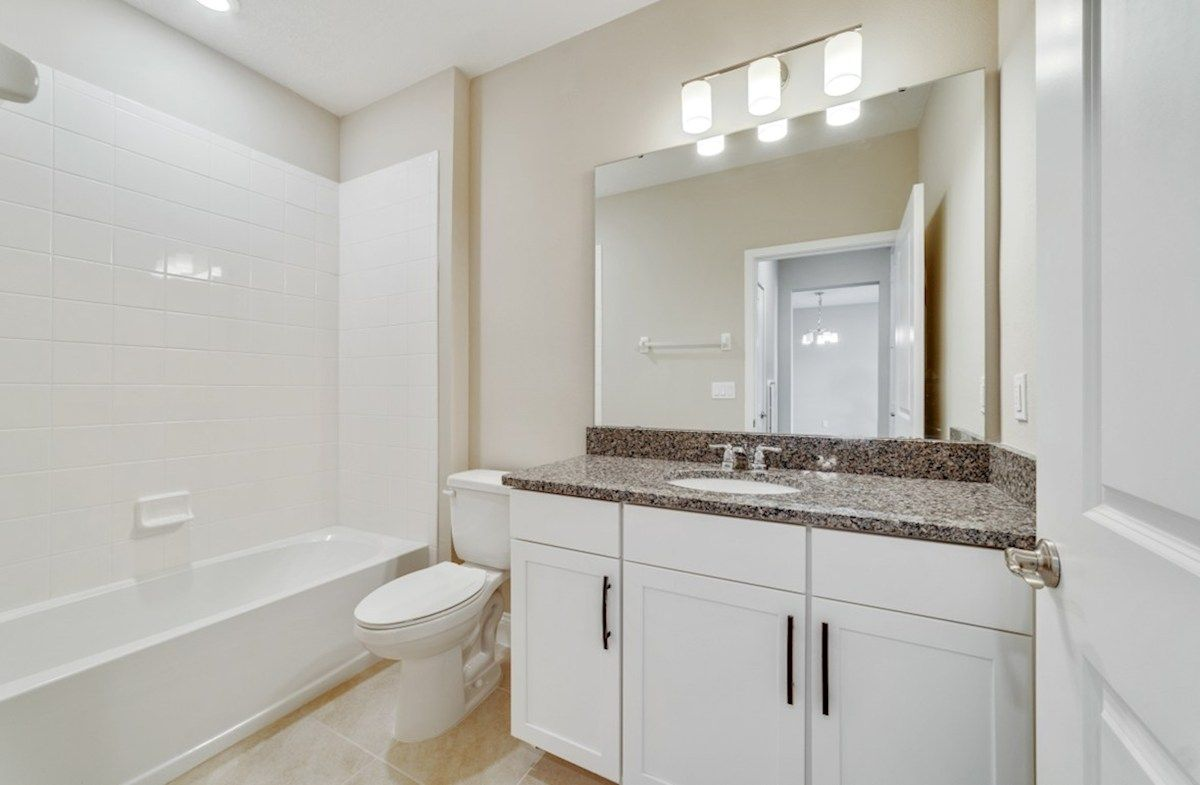 Bathroom featured in the Aspen By Beazer Homes in Orlando, FL