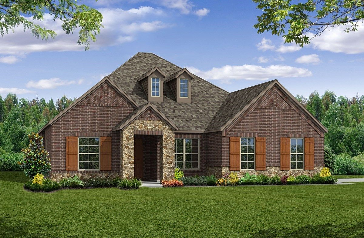 Exterior featured in the Bandera By Beazer Homes in Dallas, TX