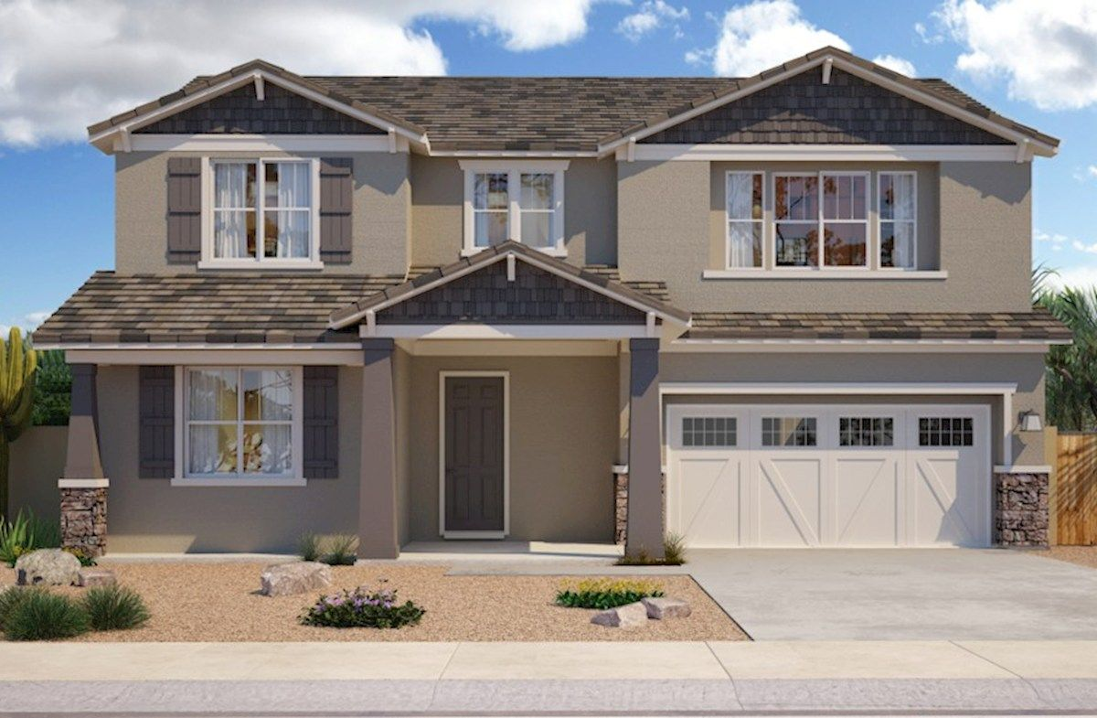 Exterior featured in the Remerton By Beazer Homes in Phoenix-Mesa, AZ