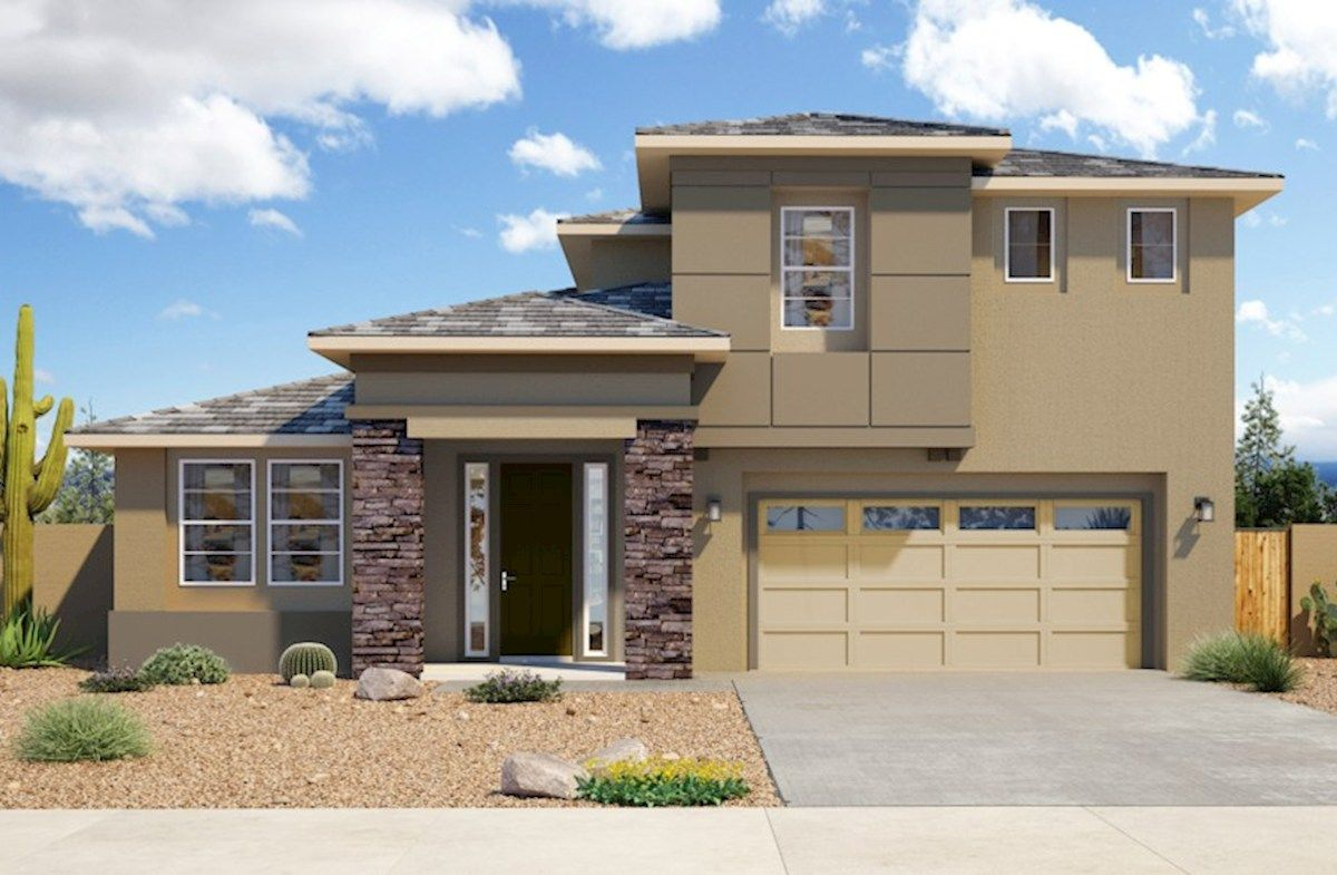 Exterior featured in the Eastman By Beazer Homes in Phoenix-Mesa, AZ