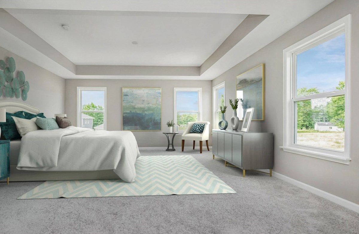 Bedroom featured in the Hendricks By Beazer Homes in Indianapolis, IN