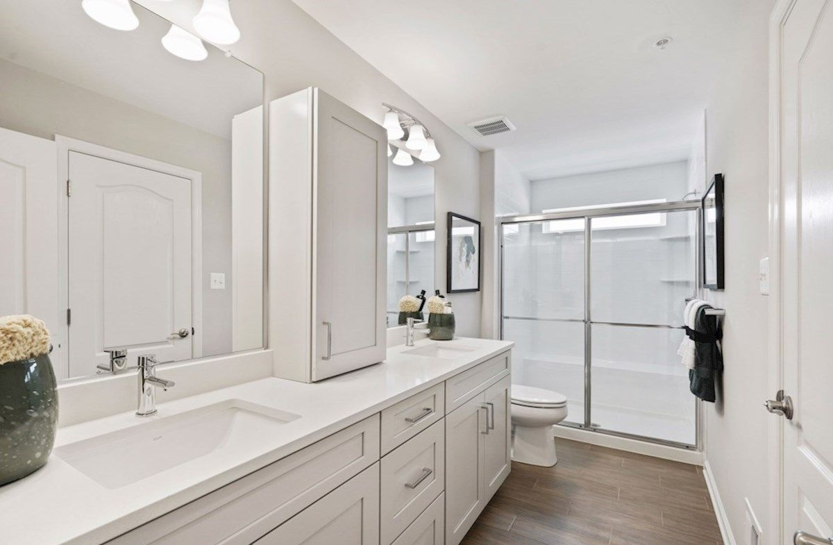 Bathroom featured in the Potomac By Beazer Homes in Baltimore, MD