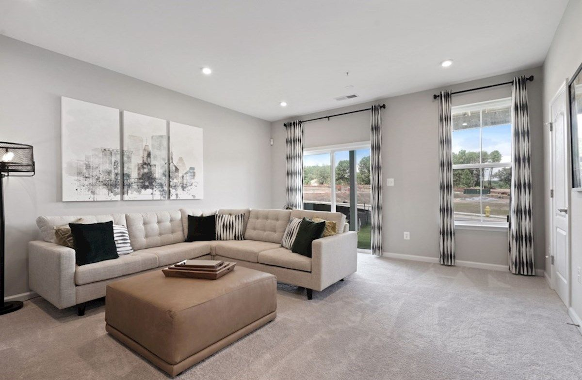 Living Area featured in the Potomac By Beazer Homes in Baltimore, MD