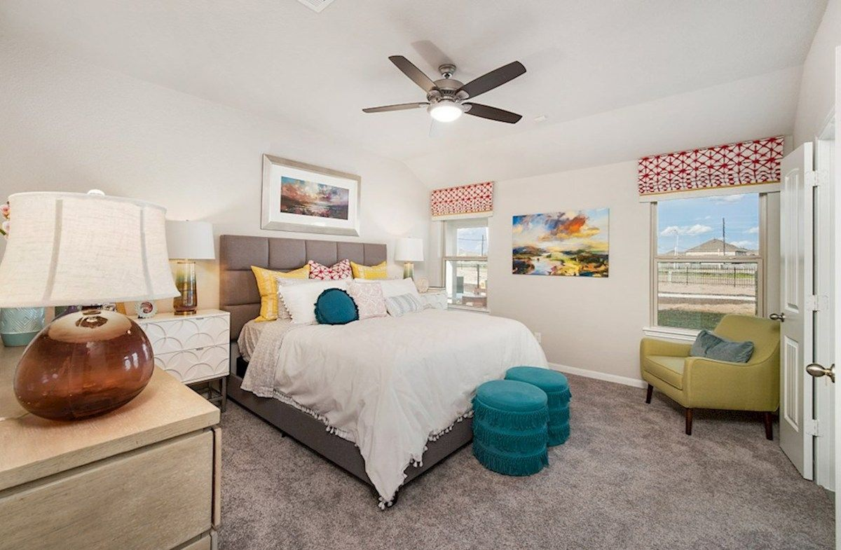 Bedroom featured in the Quintera By Beazer Homes in Houston, TX