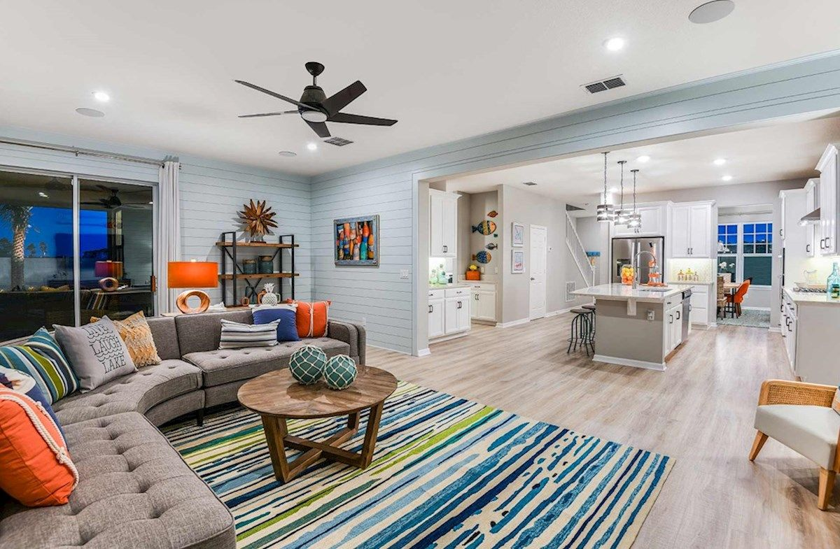 Living Area featured in the Newbury II By Beazer Homes in Orlando, FL