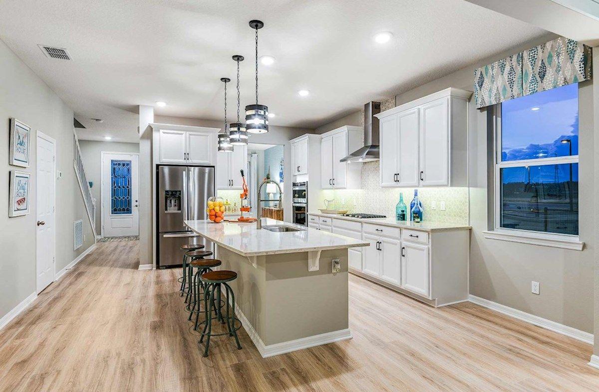 Kitchen featured in the Newbury II By Beazer Homes in Orlando, FL
