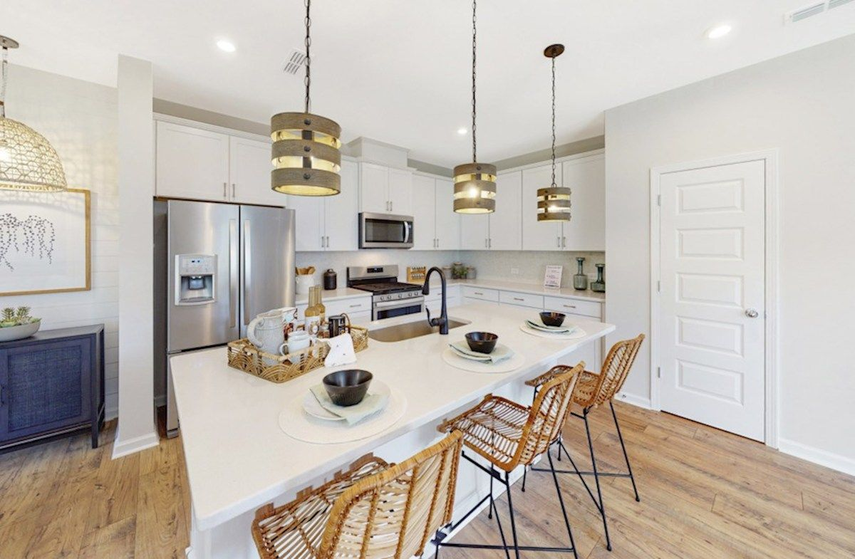 Kitchen featured in the Maxwell By Beazer Homes in Raleigh-Durham-Chapel Hill, NC