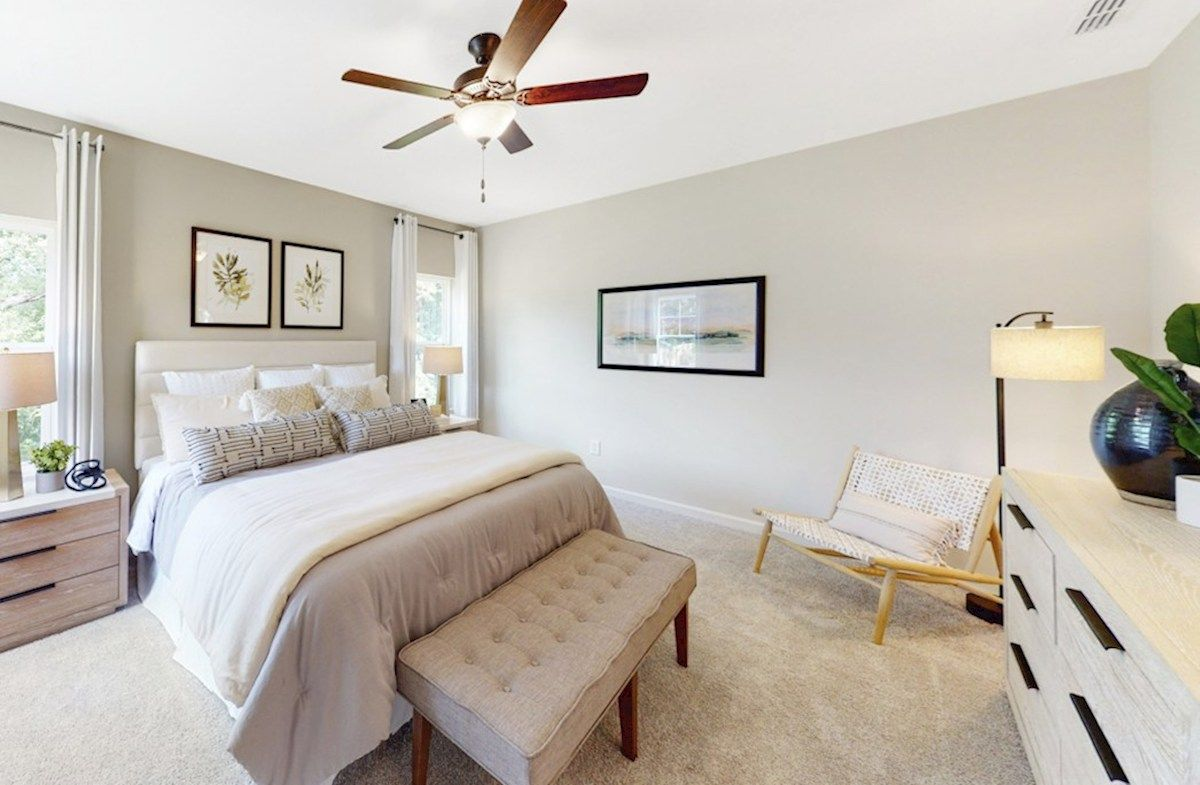Bedroom featured in the Maxwell By Beazer Homes in Raleigh-Durham-Chapel Hill, NC