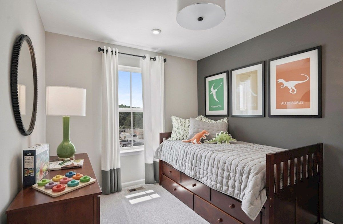 Bedroom featured in the Potomac By Beazer Homes in Baltimore, MD