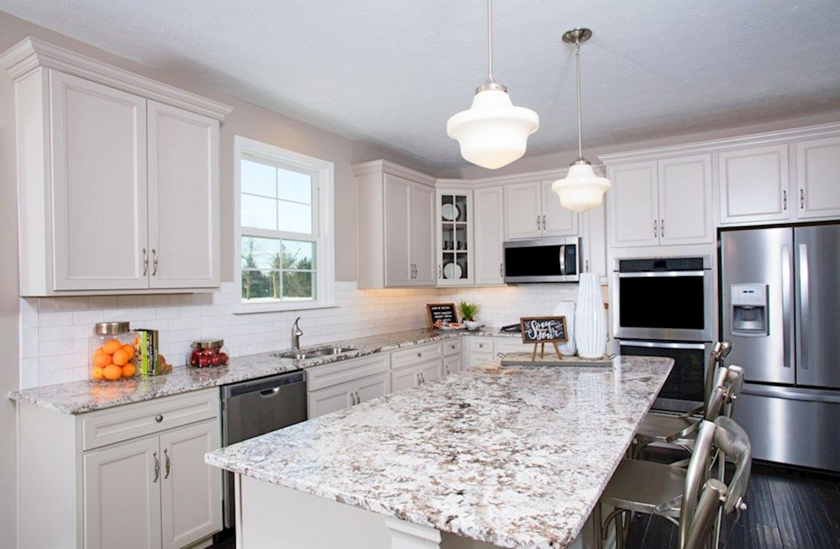Kitchen featured in the Lawrence By Beazer Homes in Indianapolis, IN