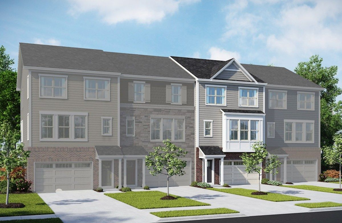 Exterior featured in the St. Michael (Ext.) By Beazer Homes in Baltimore, MD