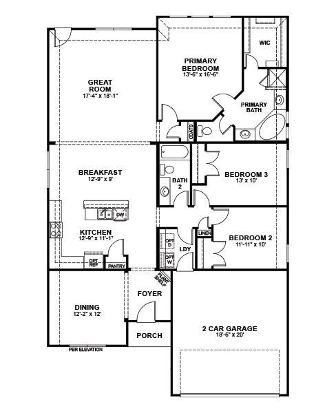 Silverado Home Plan By Beazer Homes In Devonshire