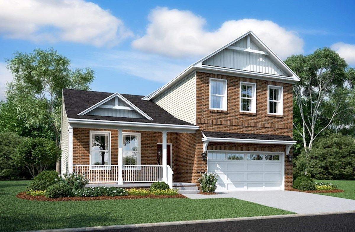 Exterior featured in the McKinley By Beazer Homes in Baltimore, MD