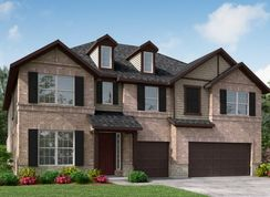 Northcliffe - Amira  - Hilltop Collection: Tomball, Texas - Beazer Homes