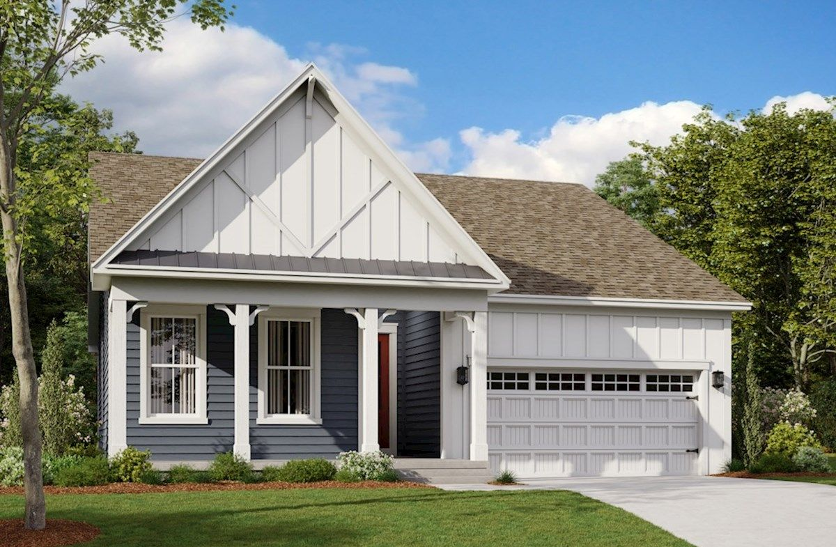 Exterior featured in the Arden By Beazer Homes in Sussex, DE