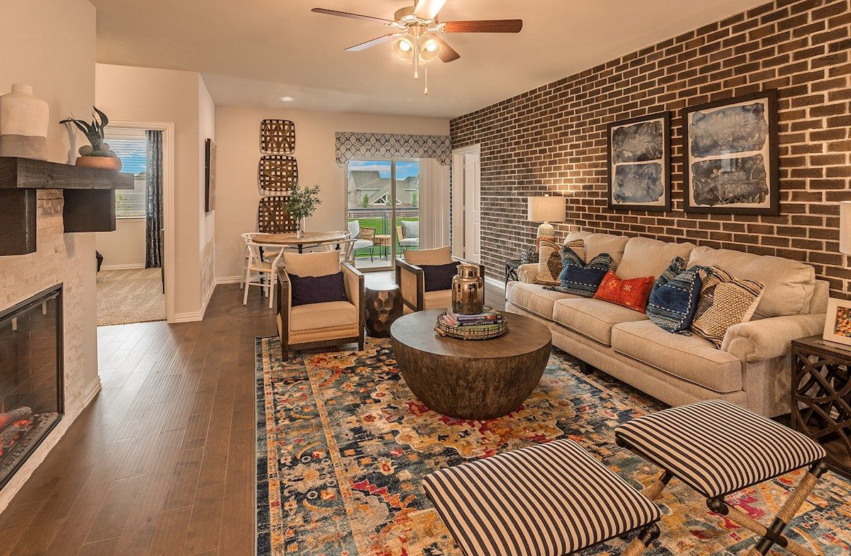 'Gatherings® at Twin Creeks' by Beazer Homes - Dallas in Dallas
