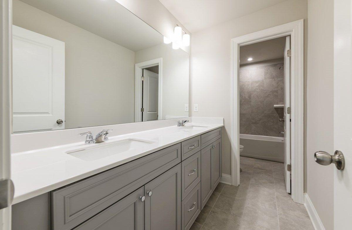 Bathroom featured in the Windsor By Beazer Homes in Atlanta, GA