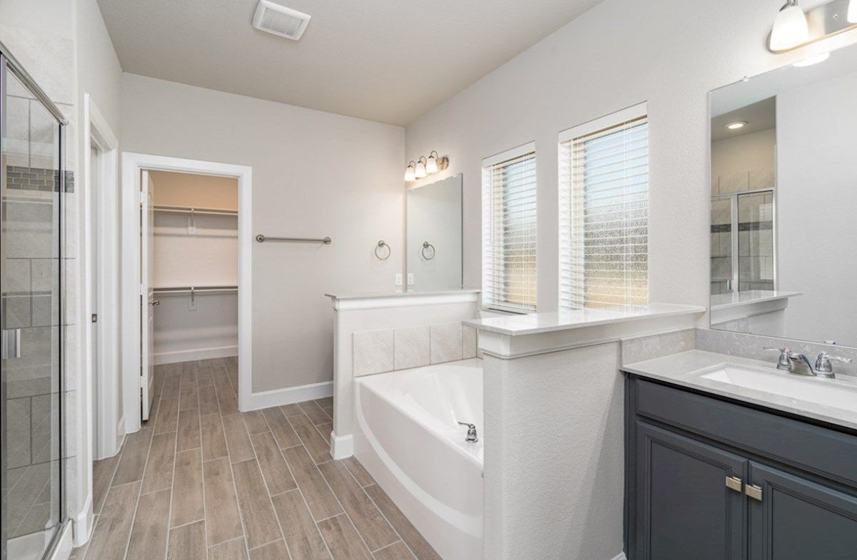 Bathroom featured in the Laredo By Beazer Homes in Dallas, TX