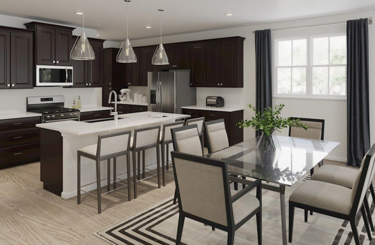 Kitchen featured in the McKinley By Beazer Homes in Baltimore, MD