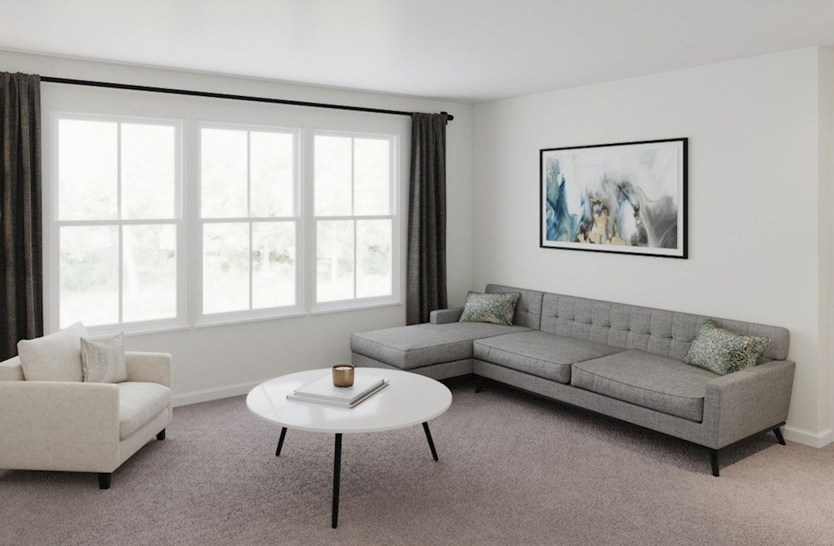 Living Area featured in the McKinley By Beazer Homes in Baltimore, MD