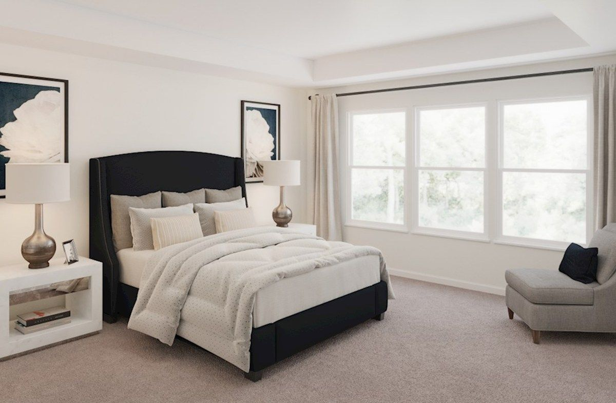 Bedroom featured in the Hemlock By Beazer Homes in Baltimore, MD