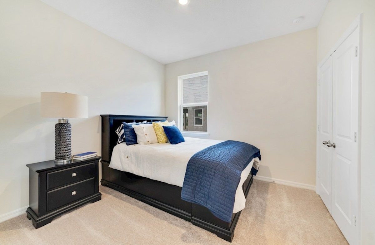 Bedroom featured in the Cambridge By Beazer Homes in Orlando, FL